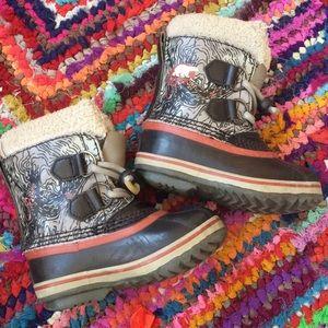 Kids Sorel Snow Boots